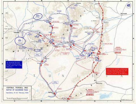 the battle of the kasserine pass during wwii History world war ii - kasserine pass  - the battle of kasserine pass was an engagement that came about during wwii,.